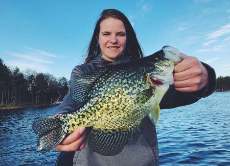 Fishing Red Cedar Lake